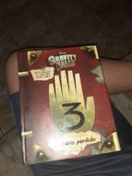(EM JALES) livro o diario perdido de gravity falls