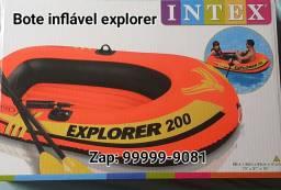 Bote inflável explorer