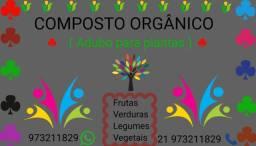 Composto orgânico ( adubo100%natural)