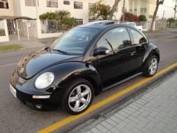 Vw New Beetle 2008 Automático com teto e couro de fábrica