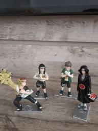 Título do anúncio: Quatro bonecos do Naruto