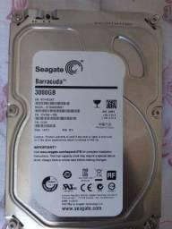HD Seagate Barracuda 3000gb / 3TB