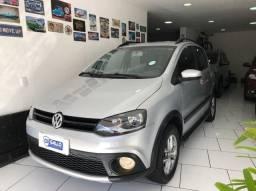 VW - CrossFox 1.6 Versão Top Com Couro 2014 - O.P.O.R.T.U.NI.D.A.D.E  //  IPVA 2021 GRÁTIS