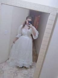 Título do anúncio: Vestido de noiva - tamanho 38