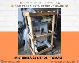 Misturador de massa para salgadinhos 22 Litros - Novo - Tomasi | Matheus