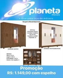 Título do anúncio: ROUPEIRO MOVAL DIPLOMATA // AQUÁRIOS AQUÁRIOS AQUÁRIOS