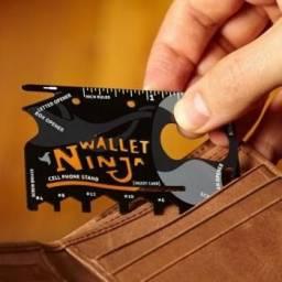 Título do anúncio: Ferramenta cartão Wallet ninja LL8219