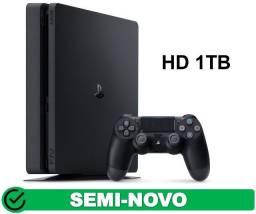 Título do anúncio: Playstation 4 Slim 1Tb Garantia Aceito Cartao (Somos Loja Fisica)
