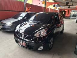 Nissan March 2015 1.0 1 mil de entrada Aércio Veículos ggv