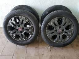 Jogo de rodas Fiat original