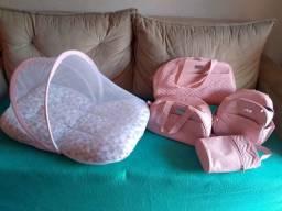 Título do anúncio: Kit bolsa de maternidade e ninho com mosqueteiro