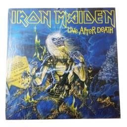 Lp Vinil Iron Maiden Live After Death