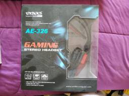 HeadSet Gamer  - AE 326 - novo na caixa