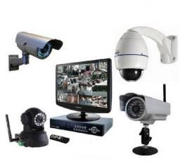 Instalação e manutenção de câmera de vigilância,interfone e fechadura elétrica