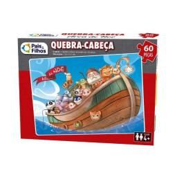 Quebra-Cabeça - 60 Peças - Arca de Noé - Pais & Filhos