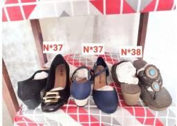 Título do anúncio: Sapatos, óculos de sol, brincos e babyliss