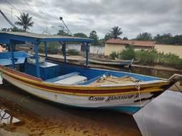 Título do anúncio: Vendo barco   motor bt 22 com reversor