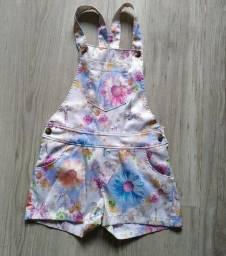 Jardineira infantil marca Coloritta 6 anos