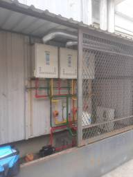 Manutenção em aquecedor a gas