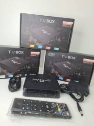 TV BOX EM PROMOÇÃO MXQ PRO 4K 5G<br>
