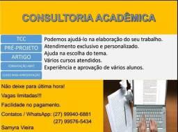 Título do anúncio: Tcc, Artigo, Trabalhos acadêmicos