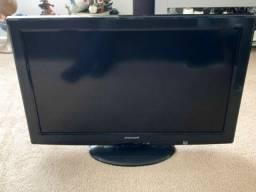TV 32 polegadas, com suporte, Geladeira eletrolux RDE 30, Microondas Consul