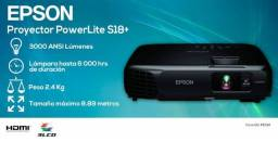 Título do anúncio: Projetor Epson Power lite S18+