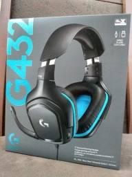 Título do anúncio: Headset Gamer Logitech G432 7.1 Dolby Surround Multi-Plataforma