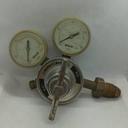 Regulador de Pressão Acetileno R-51 White Martins Usado