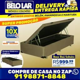 Base Baú Solteiro, Compre no zap *
