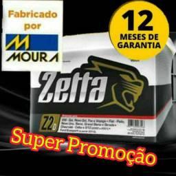 Título do anúncio: Bateria 60ah zetta fabricada pela Moura