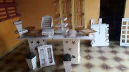 Kit móveis para decoração