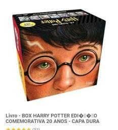 Título do anúncio: Livro Box Harry Potter edição comemoração 20 anos   capa dura