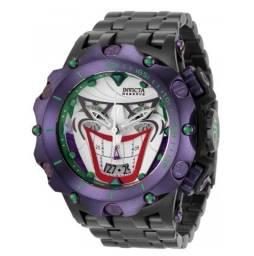 Relogio masculino Invicta Venom Hybrid Joker Coringa Edição limitada Dc Comics