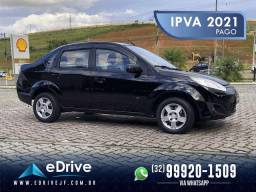 Ford Fiesta Sedan SE 1.6 Flex 5p - IPVA 2021 Pago - Completo - Baixo Km - Raridade - 2014