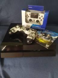 Playstation 4 - 02 Controles + 03 Jogos Grátis