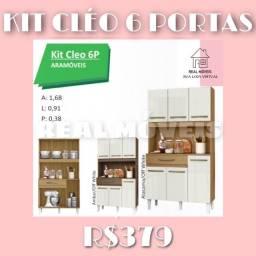 Armário de cozinha Cléo 6 portas armário de cozinha Cléo 6 portas armário 655