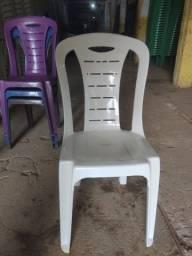 Cadeira Plástica sem Braço Varias cores Nova