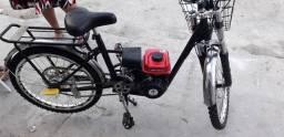 Bicicleta com motor 49 cilindrada , show