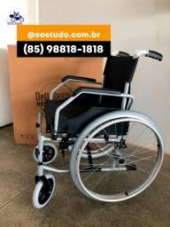 Título do anúncio: Cadeira de Rodas Confortável, Segura e que Suporta até 120kg