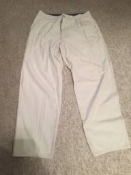 Calça Jeans Sarja Wytcher Yatching Cor Branca 100% Algodão Tamanho 46 Impecável!