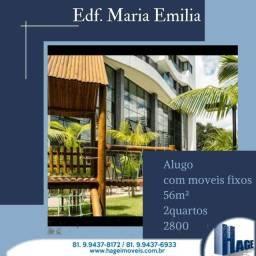 Título do anúncio: Apartamento de , 2 e 3 qts /boa viagem /semi mobilhado/