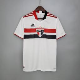 Camisa São Paulo Home 21/22 - Tamanho M e G