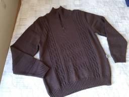 Suéter de Lã Masculino