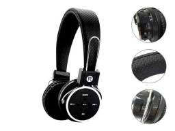 Fone Ouvido Headphone Sem Fio Wireless Bluetooth Micro Sd Fm P2 - 3 em 1