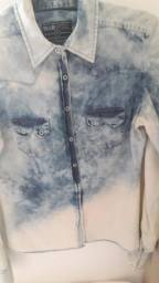 Camisa Jeans Fashion
