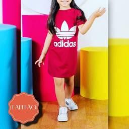 Vestido Blusão Infantil Adidas