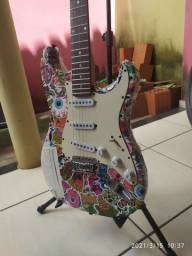 Guitarra Stratocaster Memphis MG-30 Regulada e Customizada