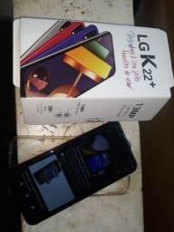 LG K22+ Plus 64gb/ 3 de ram/ Telão 6.2/ Bateria de 3000mAh