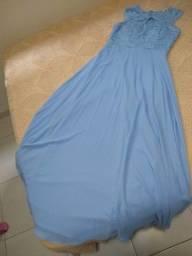 Título do anúncio: Vestido de festa semi-novo
